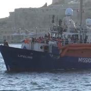 Migrants : le Lifeline est arrivé à Malte