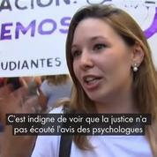Le cri de colère des Espagnoles après la libération de «La Meute»