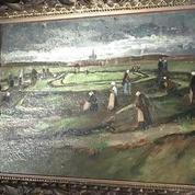 Un paysage de Van Gogh s'envole aux enchères