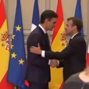 Migrants : Emmanuel Macron et Pedro Sanchez veulent faire face