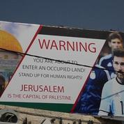 Match amical Israël-Argentine : un panneau appelle Lionel Messi à ne pas jouer