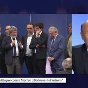 Attaque contre Macron : Borloo a-t-il raison ?