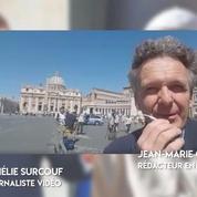 Emmanuel Macron au Vatican : «C'est avant tout la rencontre personnelle de deux hommes»