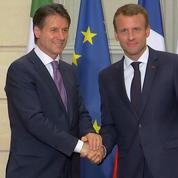 Crise Migratoire : Macron et Conte s'accordent sur l'inefficacité du système en place