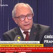 Ristournes pour Emmanuel Macron : le président de la Commission admet avoir découvert hier les montants