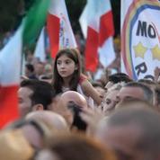 À Rome, des milliers de partisans du Mouvement 5 étoiles ont célébré leur victoire