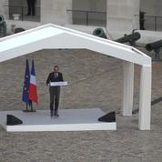 Le discours d'Édouard Philippe en hommage à Serge Dassault