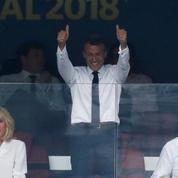 Victoire des Bleus : Emmanuel Macron se lâche !