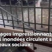 Les images impressionnantes des orages à Paris
