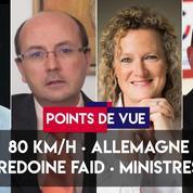 Points de vue du 2 juillet : 80km/h, Allemagne, Redoine Faïd, évaluation des ministres