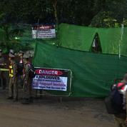 En Thaïlande, l'opération de secours des enfants a débuté