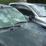 Orages violents : toitures et pare-brise dévastés à Saint-Sornin