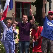 Nantes : manifestation de soutien au policier en garde à vue
