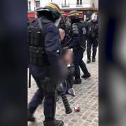Un collaborateur de Macron filmé en train de frapper un manifestant le 1er mai