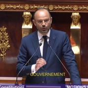 Motions de censure : Édouard Philippe dénonce une «instrumentalisation politique»