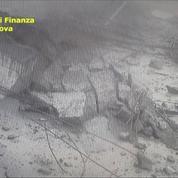 Viaduc de Gênes : l'effondrement filmé par des caméras de surveillance