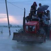 Rupture d'un barrage en Birmanie, 12.600 déplacés