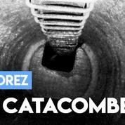 Des images dans les entrailles de Paris, au cœur des catacombes