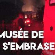 Brésil : un incendie ravage le Musée National de Rio de Janeiro