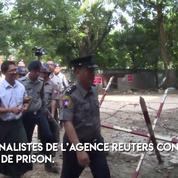 Birmanie : deux journalistes condamnés à sept ans de prison