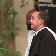 Booba et Kaaris arrivent au tribunal de Créteil