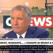 François Bayrou: «L'Europe a une responsabilité essentielle: comment garantit-on nos frontières ?»
