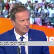 Nicolas Dupont-Aignan : ne surtout pas accueillir l'Aquarius