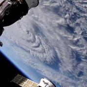 La NASA capture le moment où l'ouragan Florence touche terre