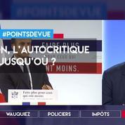 Macron : jusqu'où doit aller l'autocritique ?