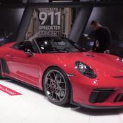 Salon de l'auto : la Porsche 911 Speedster