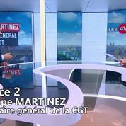Philippe Martinez : « La SNCF menace de sanctionner ceux qui ont fait grève »