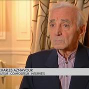 Charles Aznavour et la jeune génération d'artistes