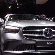 Salon de l'auto : la Mercedes Classe B