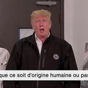 Donald Trump sur le réchauffement climatique : « ça va aller et venir »