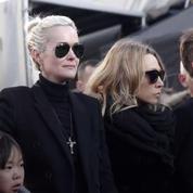Laeticia Hallyday de retour en France pour la promotion de l'album de Johnny Hallyday