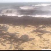 Du pétrole sur les plages varoises
