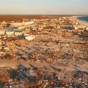 Ouragan Michael : le survol de Mexico Beach dévasté