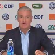 Equipe de France : les 23 joueurs sélectionnés par Didier Deschamps