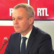 Transition écologique: François de Rugy confirme le maintien de la hausse de la taxe carbone en janvier