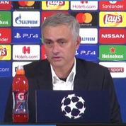 Mourinho assure que son geste n'était pas une insulte
