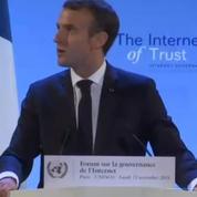 «Il y a une forme de totalitarisme contemporain qui renaît» (Emmanuel Macron)