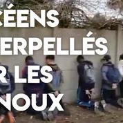 Les images de l'interpellation musclée de jeunes à Mantes-la-Jolie