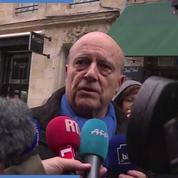 Alain Juppé : «Il faut que le président de la République parle vite»