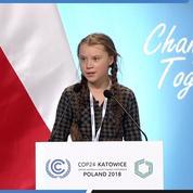 «Je parle au nom de la justice climatique», le discours percutant d'une Suédoise de 15 ans à la COP 24