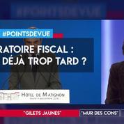 Moratoire fiscal : est-ce déjà trop tard ?