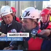 À Gênes, le maire promet la reconstruction du pont avant Noël 2019