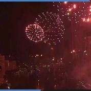 Bangkok : un grand feu d'artifice pour célébrer la nouvelle année
