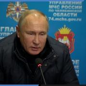 Russie : Poutine se rend à Magnitogorsk après l'explosion au gaz mortelle