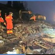 Un glissement de terrain fait trois morts en Chine