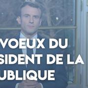 Les vœux du président de la République